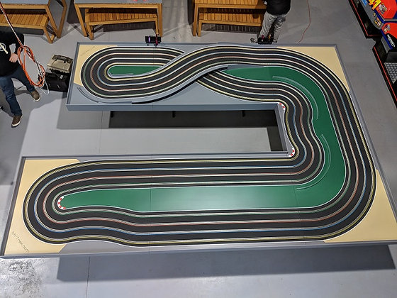 MrTrax 4LSET(E,F,S,LA) Modular Track system - 4 Lanes (6 tables)