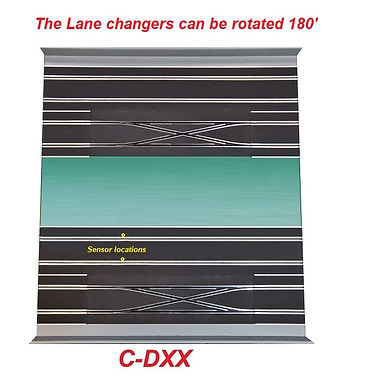 MR TRAX-C-DXX Digital Track with 2 Double Lane Changes
