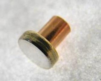 SLICK7-001 Silver Contact Button