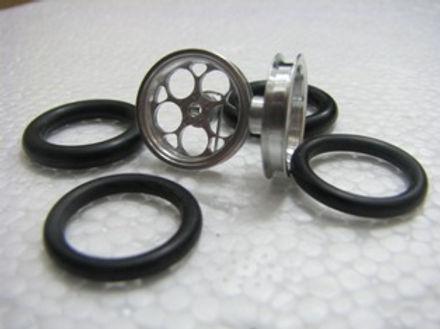"PRO TRACK-411J 1/16 x 3/4 O-ring CNC Mach. Drag Fronts ""Magnum"""