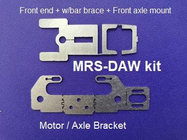 MR SLOTCAR MRS-DAW Kit - Drag Angle Wind Chassis Kit