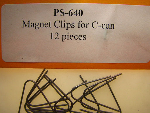 PRO SLOT-640 C-Can Magnet Clips