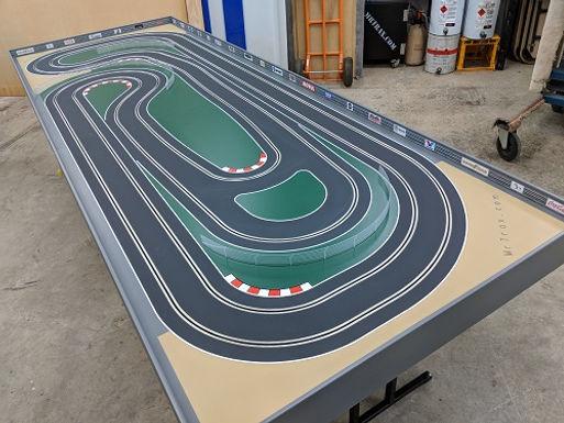MR TRAX-2LSET3350 Modular Track system - 2 Lanes (2 tables)