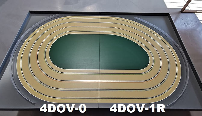 MR TRAX-4DOV-01 Modular 4 Lane Oval - 2.4mt x 1.5mt