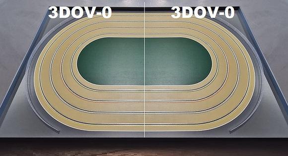 MrTrax 3DOV-00 Modular 4 Lane Oval Set - 2.4mt x 1.5mt