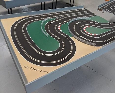 MrTrax 2L-RA Modular 2 Lane Section - 1.2 x 1.75mt End Section