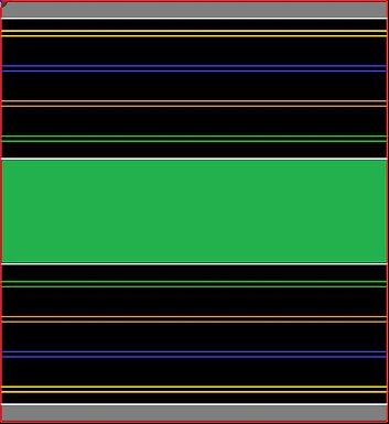MR TRAX-4L-D Modular 4 Lane Section - 1.2 x 1.1mt Half Straight