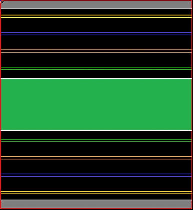 MrTrax 4L-D Modular 4 Lane Section - 1.2 x 1.1mt Half Straight