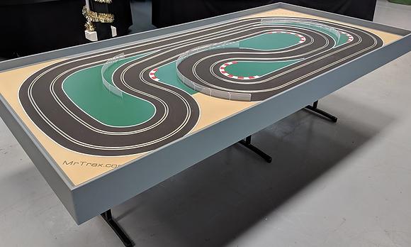 MrTrax 2LSET2550 Modular Track system - 2 Lanes (2 tables)