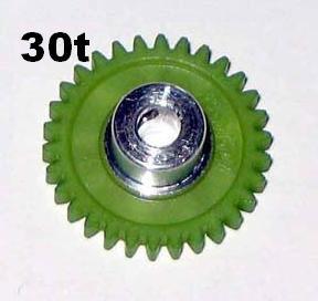 "PRO SLOT 673-30 Polymer 1/8"" Axle Gear 48p GREEN 30"