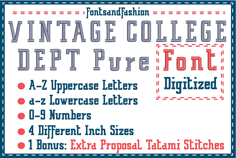 Vintage College Dept_pure_main_ NUOVO SI