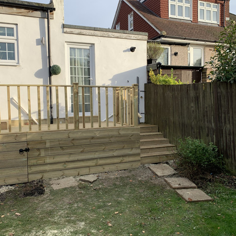 raise Deck with stairwell
