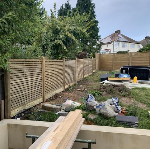 Slated Fence