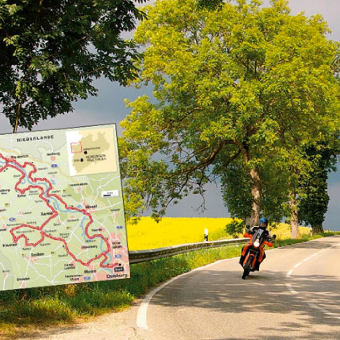 Motorrad - Schnitzeljagd