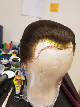 Full Lace Male Wig