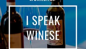 WORKSHOP- Introdução à prova de vinhos