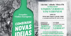 Workshops Vinhos Verdes e Vini Veronesi