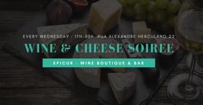 Wine & Cheese Soiree (June until August 2018)
