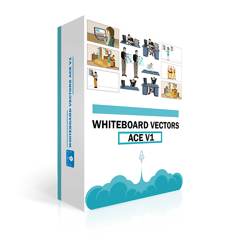 Whiteboard Vectors Ace Volume 1