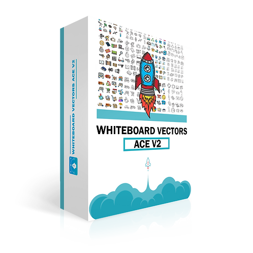 Whiteboard Vectors Ace Volume 2