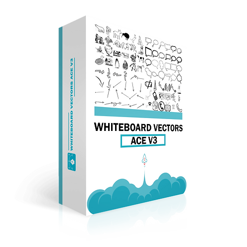 Whiteboard Vectors Ace Volume 3