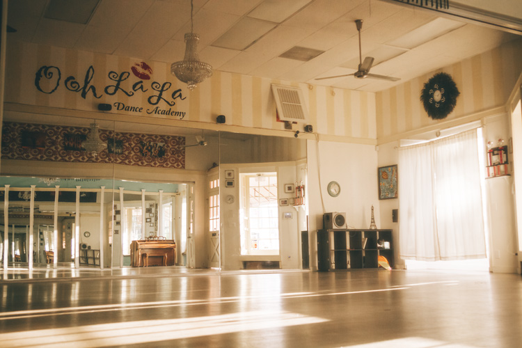 dance studio La Jolla