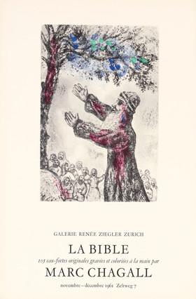 La Bible - 105 eau-fortes originales gravés et coloriées à la main par Marc Chagall