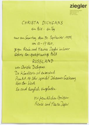 Christa Dichgangs: ein Bild - ein Tag: Russland