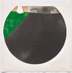 Rolf Lehmann - Suite de 10 aquatintes-collages, Blatt 3,1972