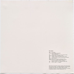 Rolf Lehmann - Suite de 10 aquatintes-collages, CV und technische Angaben, 1972
