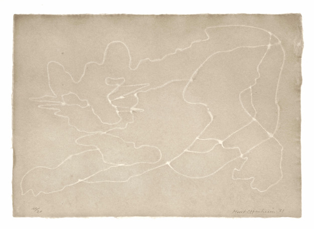 Meret Oppenheim, Wolken (II): Blatt Nr. 11, 1971
