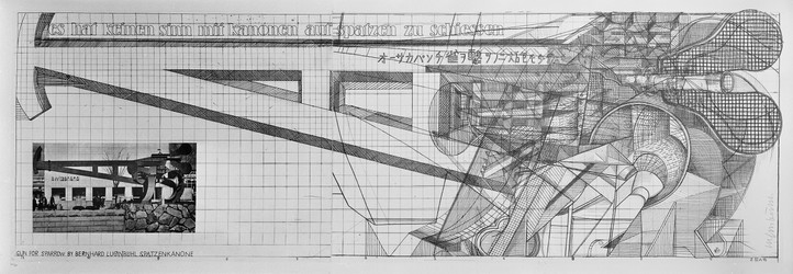 Bernhard Luginbühl, GUN FOR SPARROW, 1970