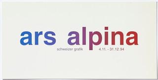 ars alpina: schweizer grafik