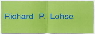 Richard Paul Lohse - Grafik