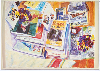 Richard M. Brintzenhofe: Drawings, watercolor and oil paintings