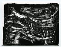 Bernhard Luginbühl, BUMINELL - Figurenskizze, 1966-67