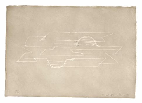 Meret Oppenheim, Wolken (II): Blatt Nr. 8, 1971