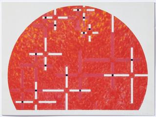 shizuko yoshikawa: 'kosmische gewebe' 1994/95, 'a roma' 1997