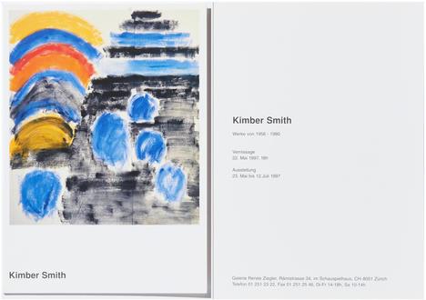 Kimber Smith - Werke von 1956 - 1980