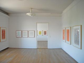 Gotthard Graubner: Malerei auf Papier, Sardische Aquarelle