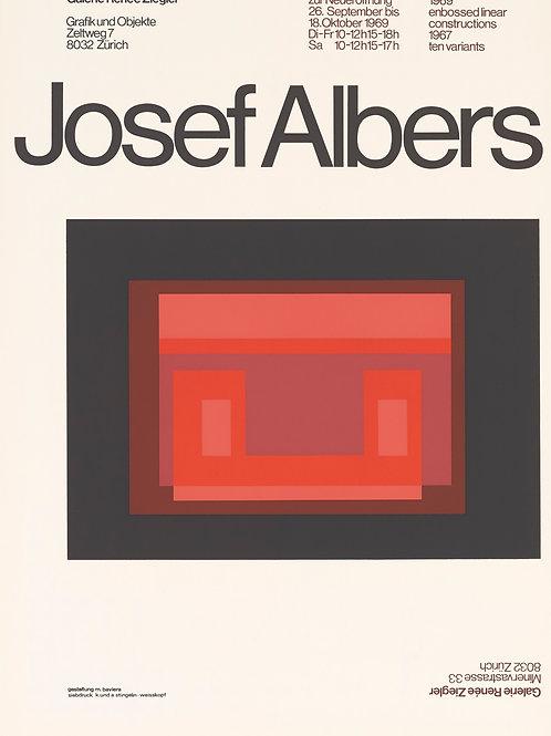 Poster - Ausstellung Josef Albers