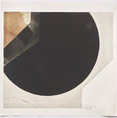 Rolf Lehmann - Suite de 10 aquatintes-collages, Blatt 1,1972