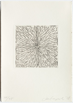 Pierre Haubensak, Ohne Titel, 1978