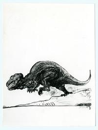 Bernhard Luginbühl, BUMINELL - Dinosaurier, 1966-67