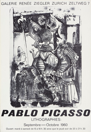 Pablo Picasso - Lithographies