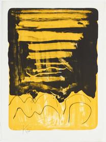 Kimber Smith, Yellow and Black, 1979