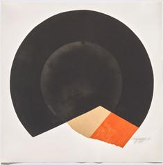 Rolf Lehmann - Suite de 10 aquatintes-collages, Blatt 2, 1972