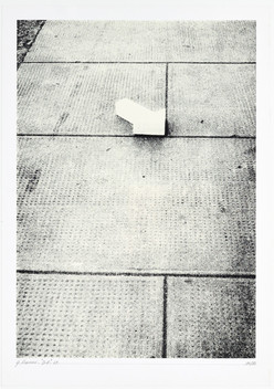 Gianfredo Camesi, Indication (determination d'espace), 1969/71