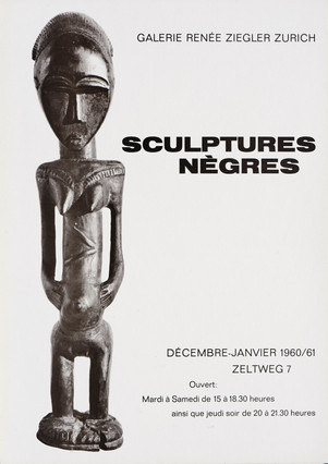 Sculptures Nègres