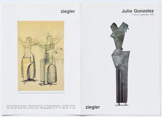 Julio Gonzalez: Plastiken, Zeichnungen, Bilder